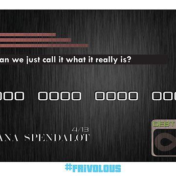 The Debt Card - #frivolous by BrandonHolsey