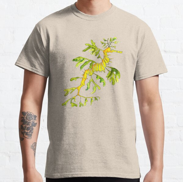 Adult Leafy Sea Dragon (white) Classic T-Shirt