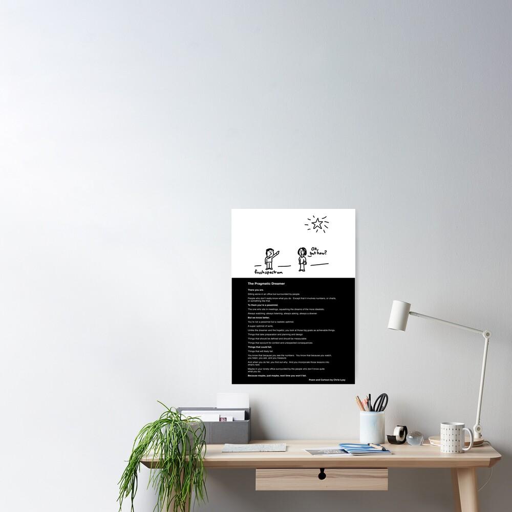 The Pragmatic Dreamer Poster