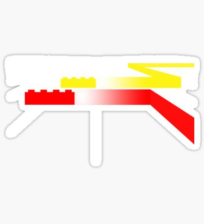 Building Blocks and Racing Cars Sticker