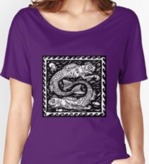 The Deep Ones (Full print)  Women's Relaxed Fit T-Shirt