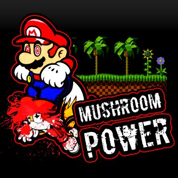 Mushroom Power (Print Version) by Rodmarck