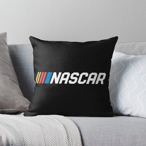 nascar, rcing, car, cars, race, vintage, ford, dodge, speed, nhra, daytona, usa, mustang, gifts Throw Pillow