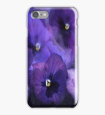 """Purple Pansy iPhone Cover..."" iPhone Case/Skin"