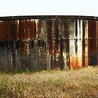 Farmland Watertank by Vanessa Barklay