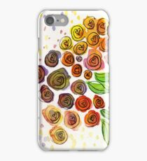 Watercolor Flower Bunch iPhone Case/Skin