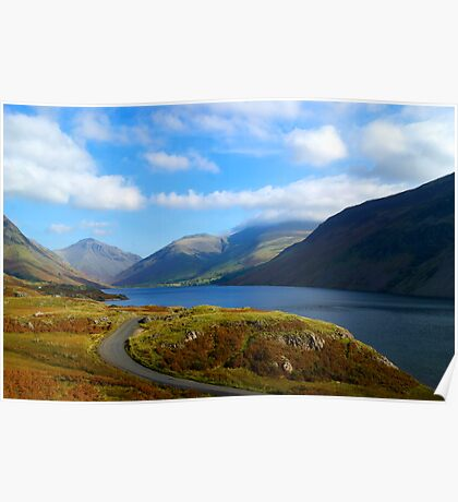 Wast Water- Lake District National Park Poster