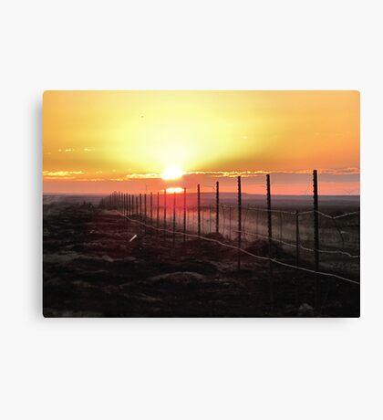 Good Morning Sunshine- dedicated to myself Canvas Print