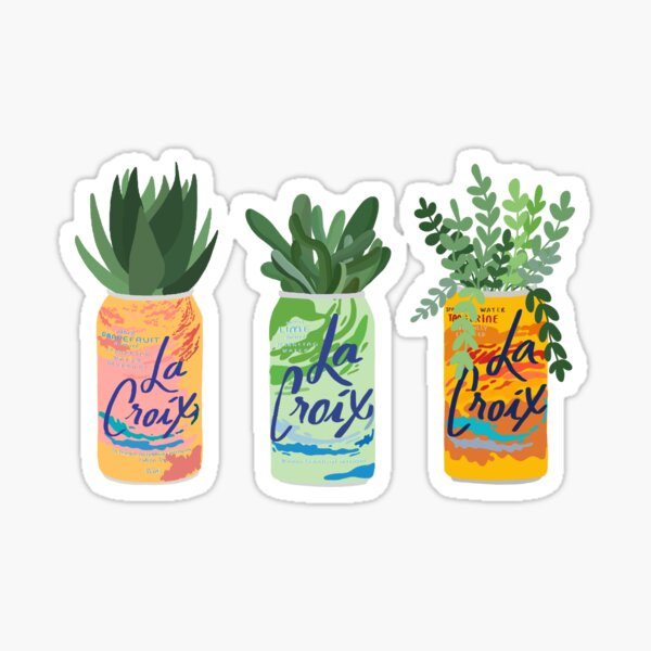 La Croix Plants Sticker