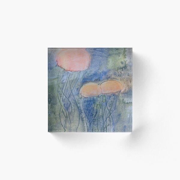 Jellyfish Dance Acrylic Block
