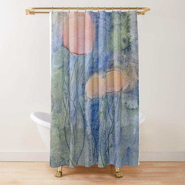 Jellyfish Dance Shower Curtain