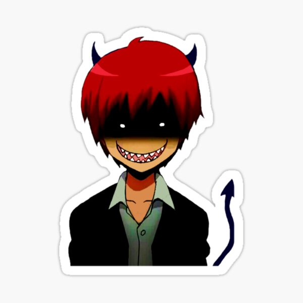 Evil Karma Akabane - Assassination classroom  Sticker