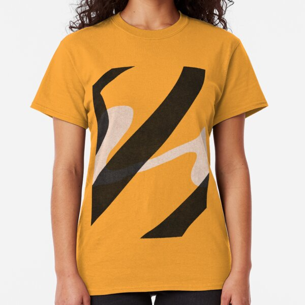 ABSTRACT ALPHABET / Script U Classic T-Shirt