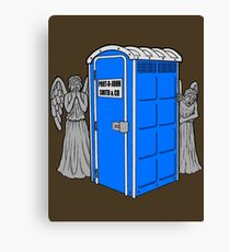 The Angels Have the Wrong Box! Canvas Print
