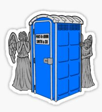The Angels Have the Wrong Box! Sticker