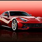 Ferrari F12 by Andrew Wells