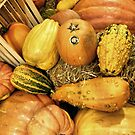 Crates And Gourds by joan warburton