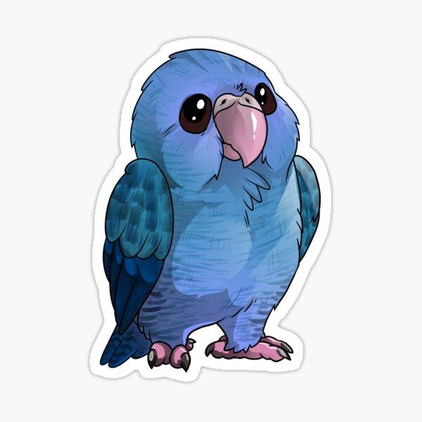 Lineolated Parakeet Sticker
