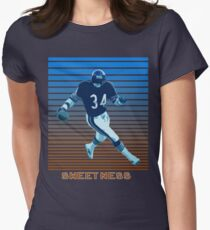 Walter Payton Sweetness Women's Fitted T-Shirt
