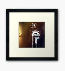 Burn Framed Print