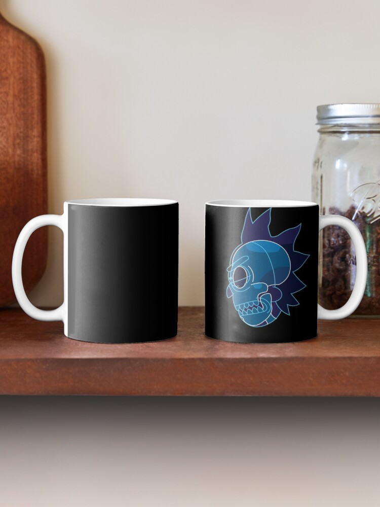Alternate view of Rick Sanchez head X-Ray from Rick and Morty ™ Mug