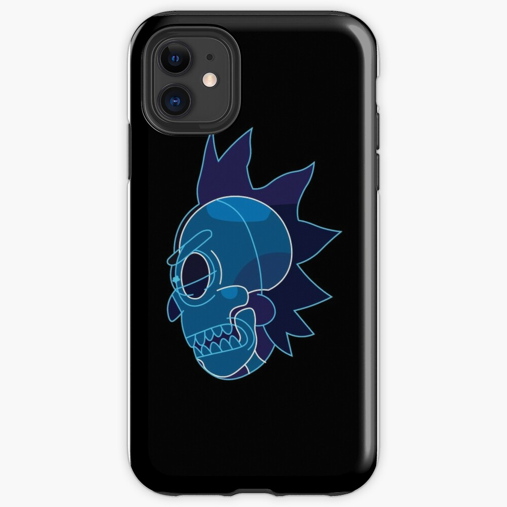 Rick Sanchez head X-Ray from Rick and Morty ™ iPhone Case & Cover