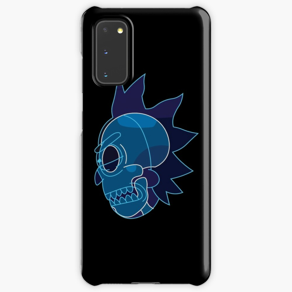 Rick Sanchez head X-Ray from Rick and Morty ™ Case & Skin for Samsung Galaxy