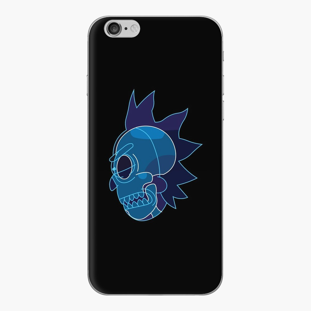 Rick Sanchez head X-Ray from Rick and Morty ™ iPhone Skin