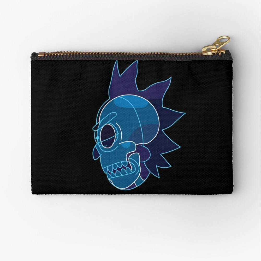 Rick Sanchez head X-Ray from Rick and Morty ™ Zipper Pouch