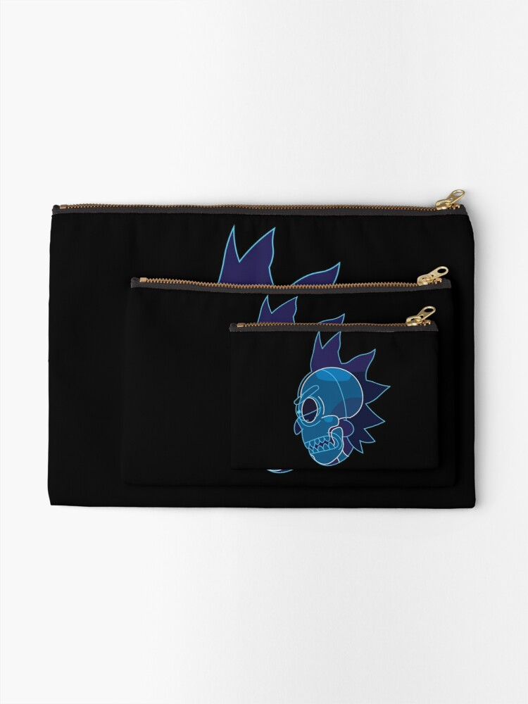 Alternate view of Rick Sanchez head X-Ray from Rick and Morty ™ Zipper Pouch