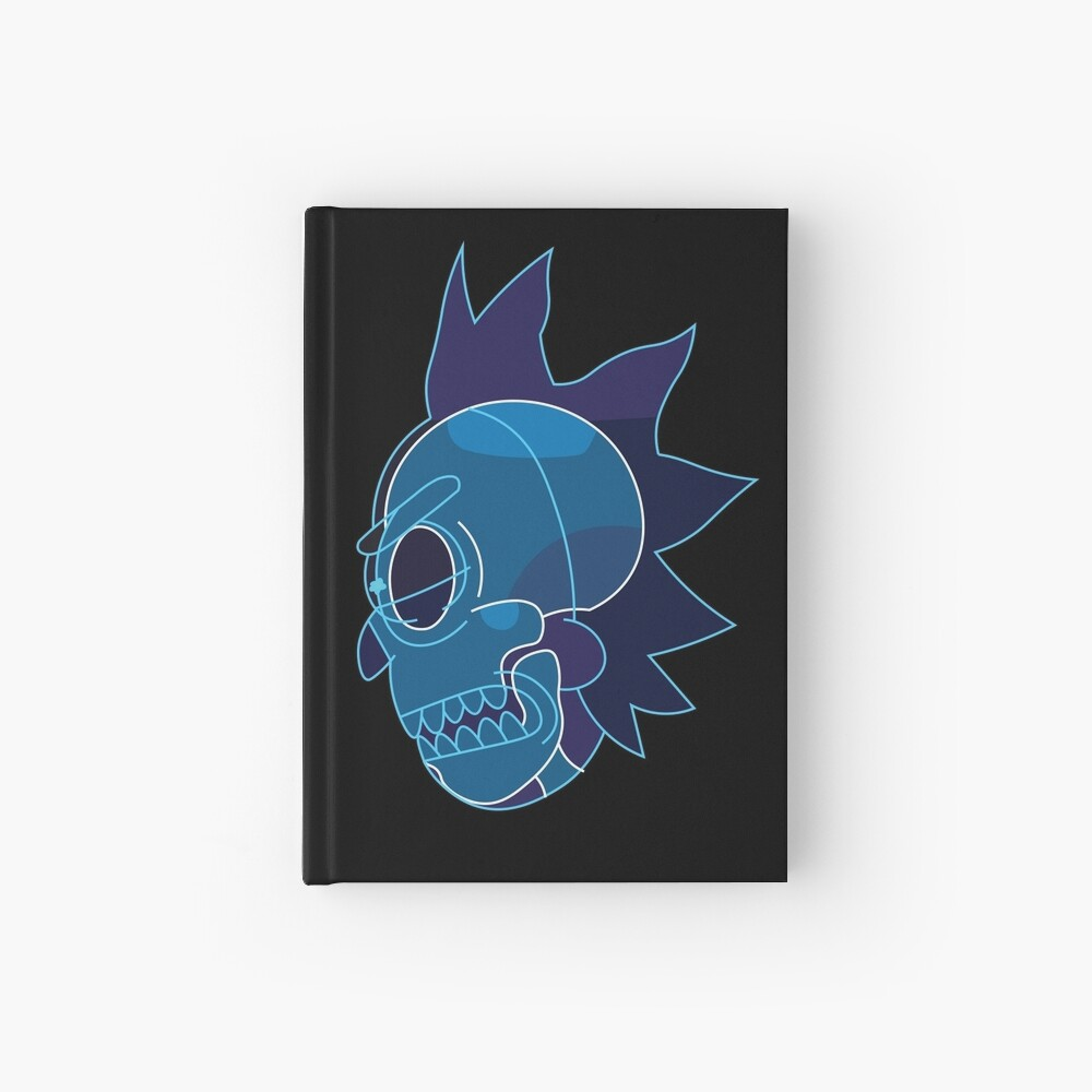 Rick Sanchez head X-Ray from Rick and Morty ™ Hardcover Journal