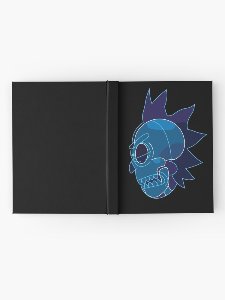 Alternate view of Rick Sanchez head X-Ray from Rick and Morty ™ Hardcover Journal