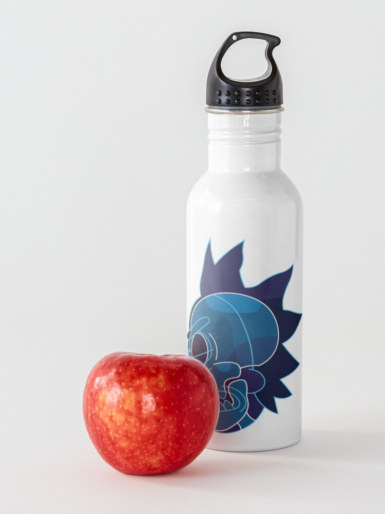 Alternate view of Rick Sanchez head X-Ray from Rick and Morty ™ Water Bottle