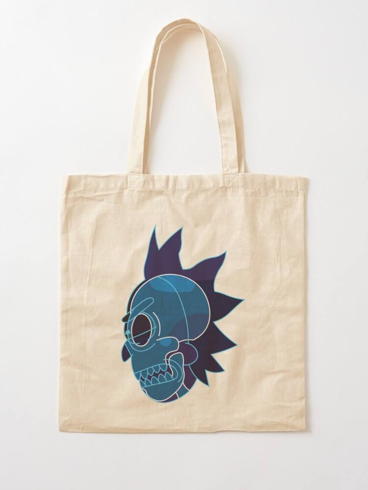 Alternate view of Rick Sanchez head X-Ray from Rick and Morty ™ Tote Bag