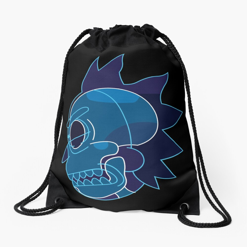Rick Sanchez head X-Ray from Rick and Morty ™ Drawstring Bag