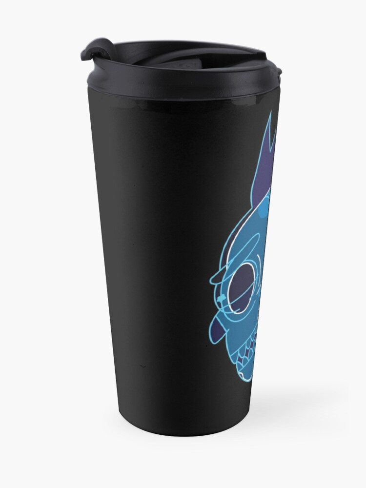 Alternate view of Rick Sanchez head X-Ray from Rick and Morty ™ Travel Mug