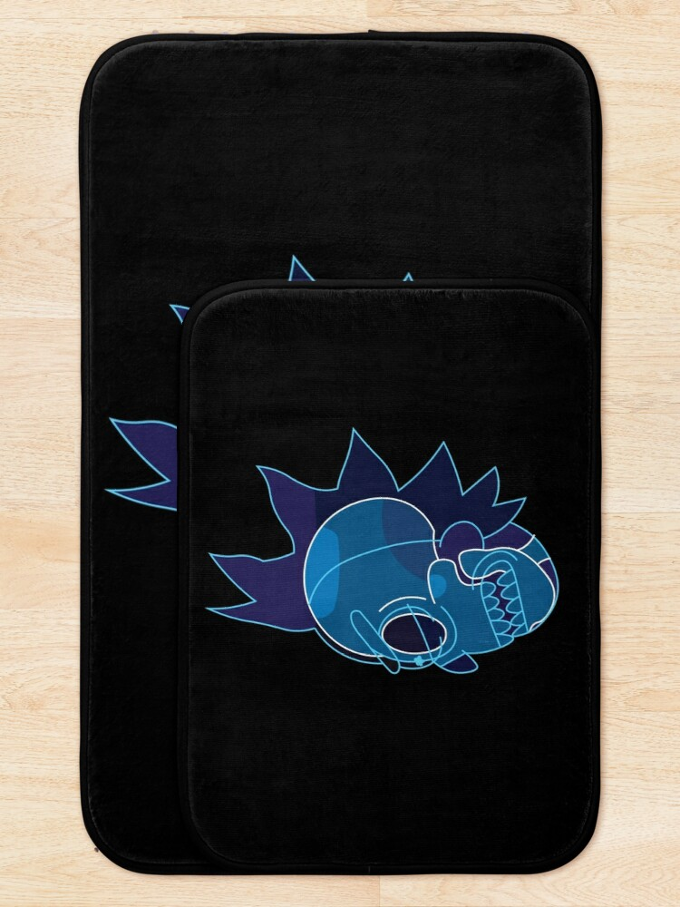 Alternate view of Rick Sanchez head X-Ray from Rick and Morty ™ Bath Mat