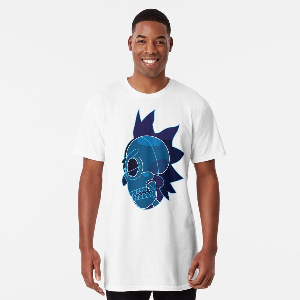 Rick Sanchez head X-Ray from Rick and Morty ™ Long T-Shirt