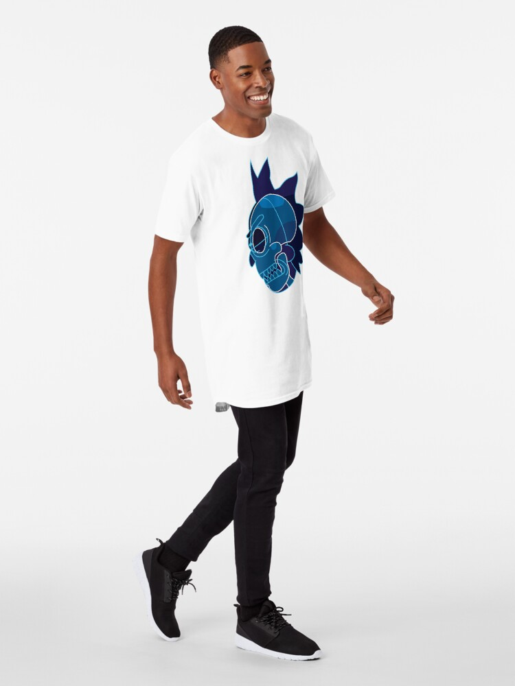 Alternate view of Rick Sanchez head X-Ray from Rick and Morty ™ Long T-Shirt