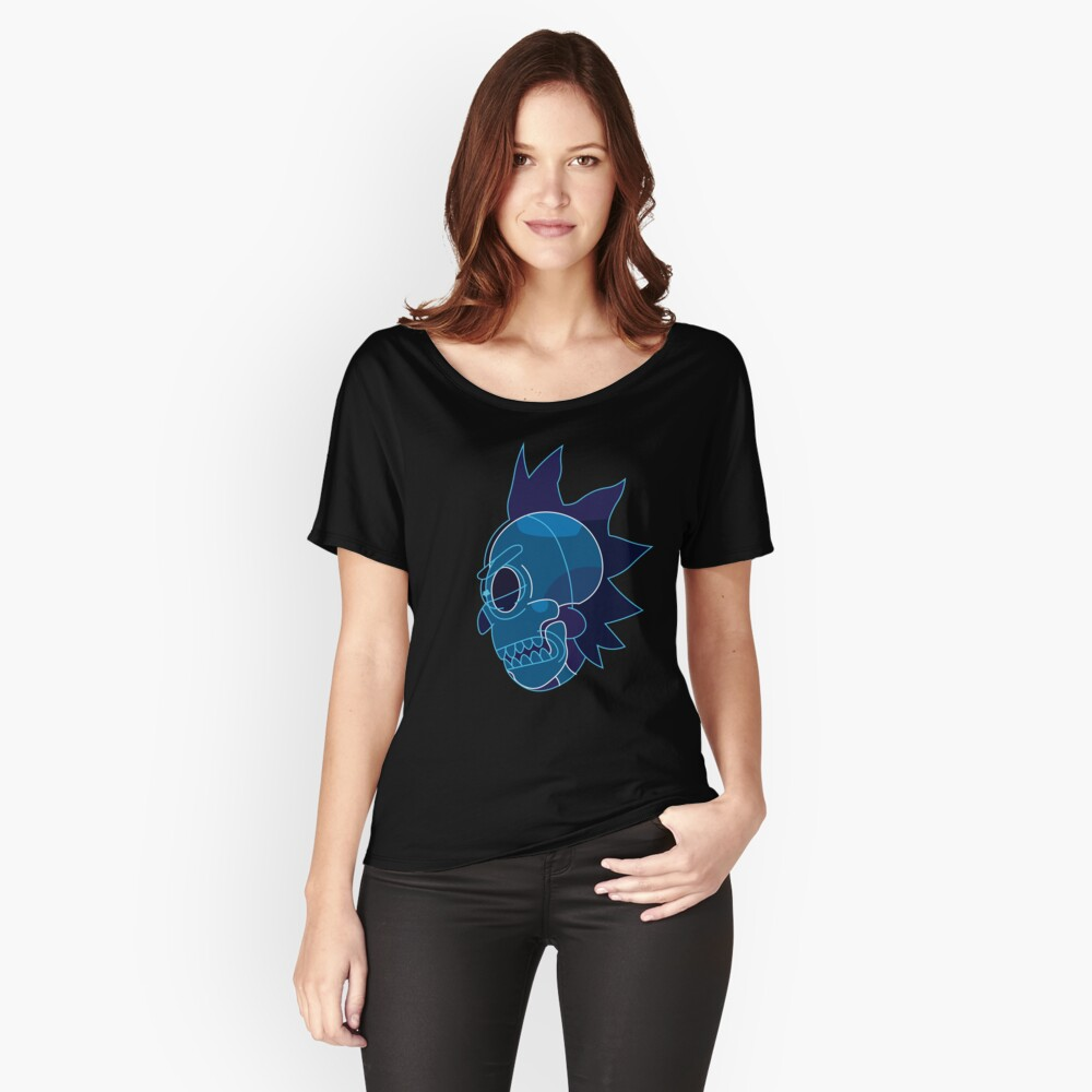 Rick Sanchez head X-Ray from Rick and Morty ™ Relaxed Fit T-Shirt