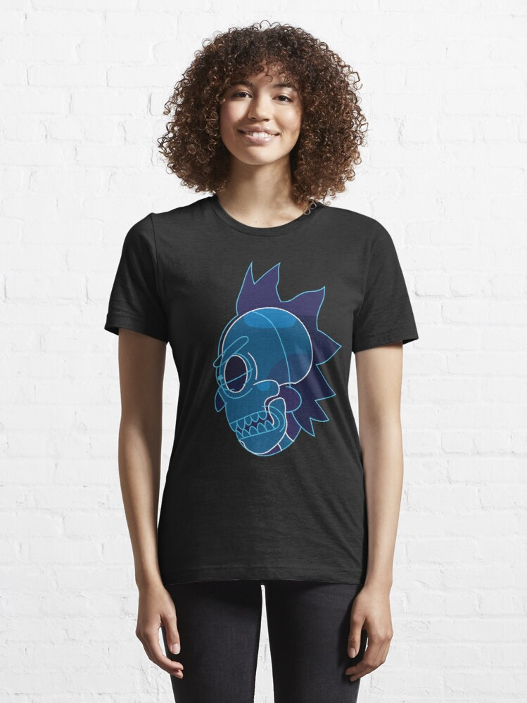 Alternate view of Rick Sanchez head X-Ray from Rick and Morty ™ Essential T-Shirt