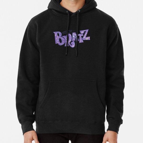 BRATZ glitter sparkle Logo Pullover Hoodie