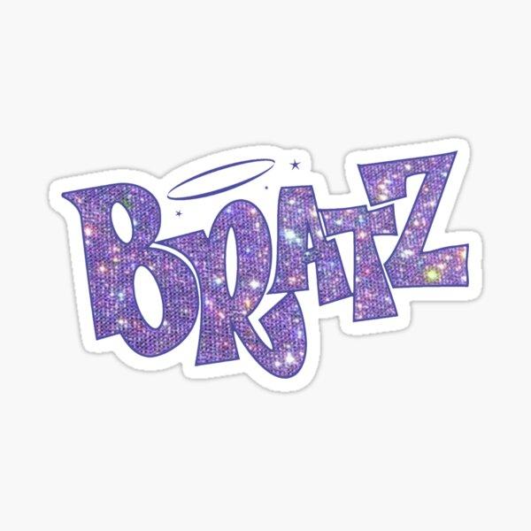 BRATZ glitter sparkle Logo Sticker