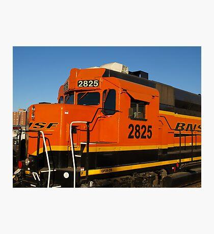 Big Orange Engine Photographic Print