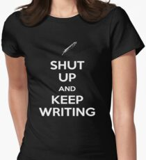 Keep Writing #2 Women's Fitted T-Shirt