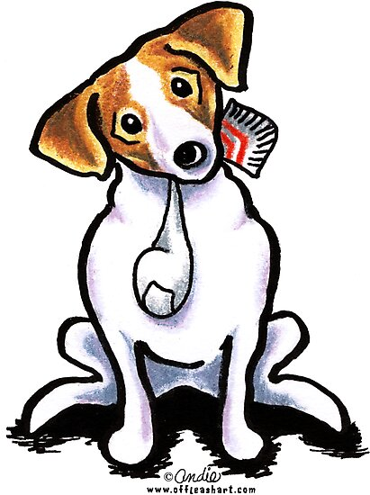 Jack Russell Lets Play by offleashart