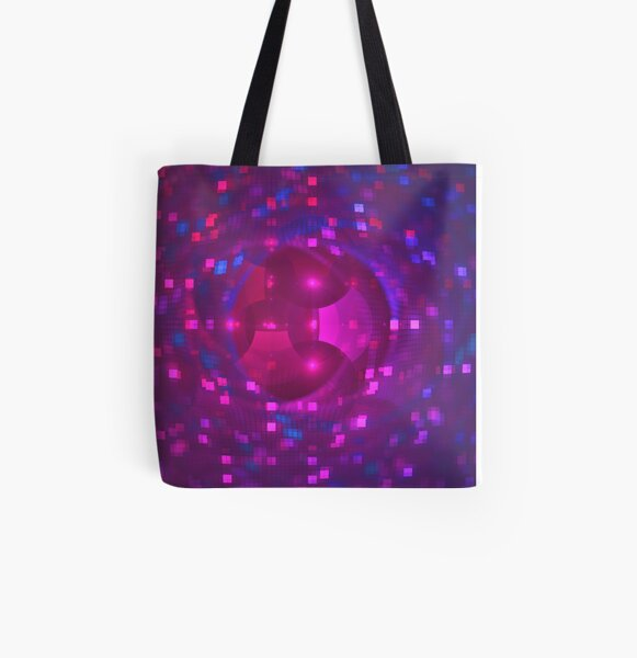 Disco Ball   Future Art Fashion All Over Print Tote Bag