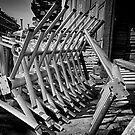 Machine Yard B/W by Adam Northam