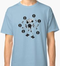 Agent Traxxident Logo Classic T-Shirt