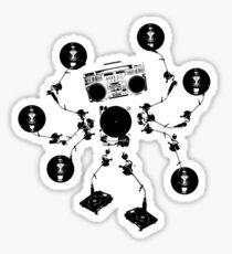 Agent Traxxident Logo Sticker